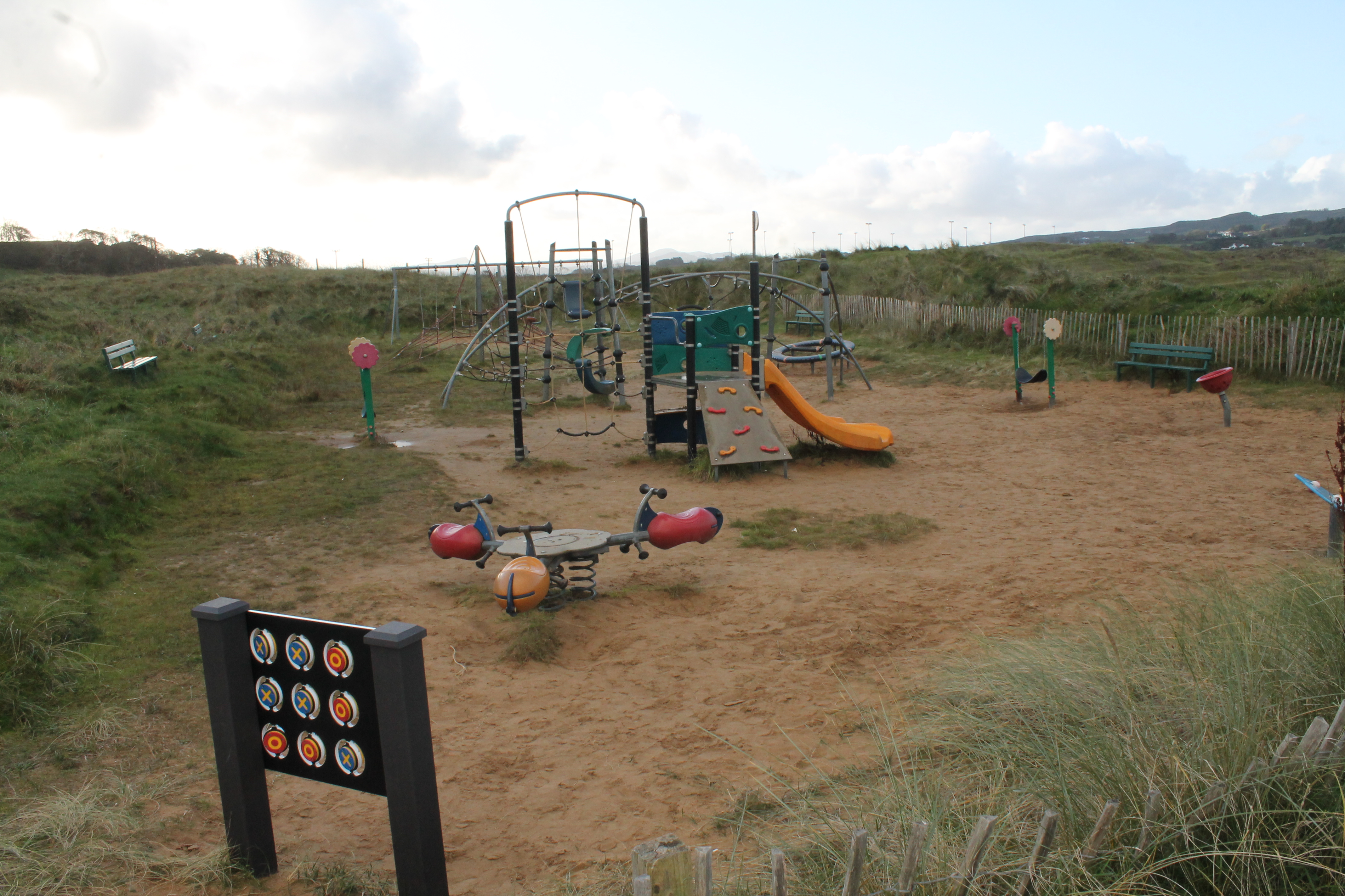 Culdaff play park
