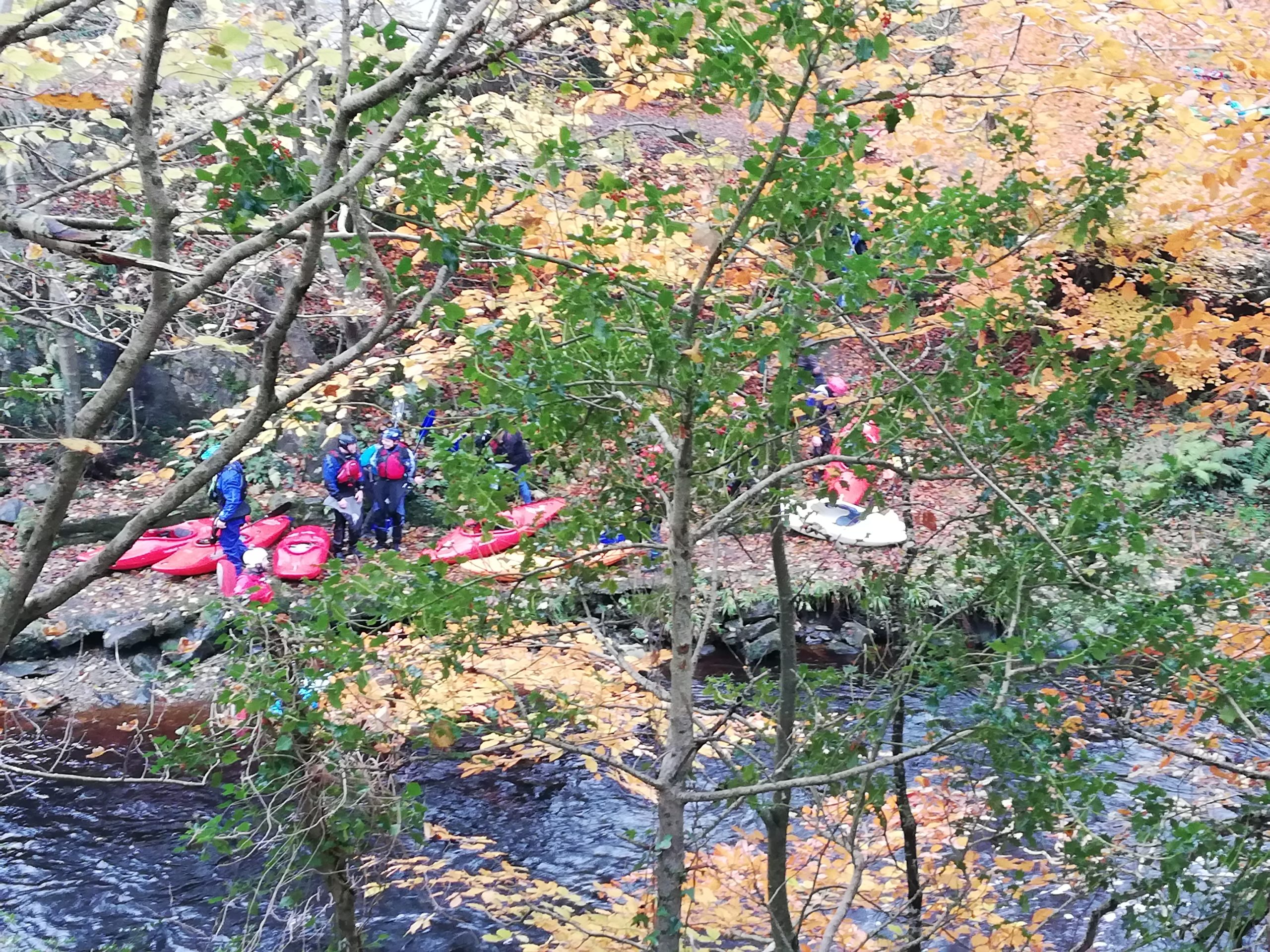 Activities in Inishowen include kayaking on the Crana River with Inish Adventure