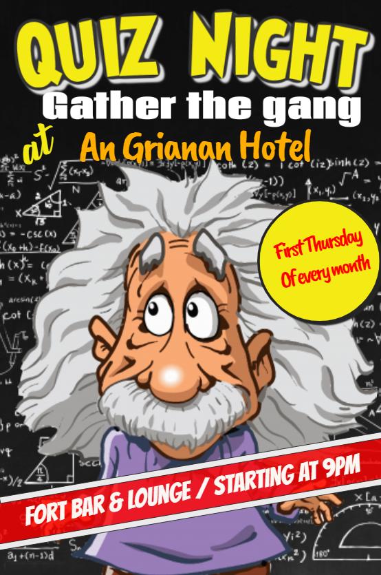 An Grianan Hotel Quiz Night